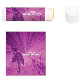 Supergirl Personalized Lip Balm (12 Pack)