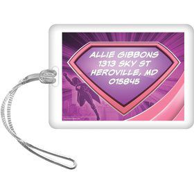 Supergirl Personalized Luggage Tag (Each)