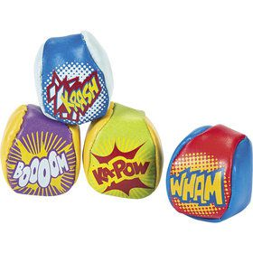 "Superhero 2"" Kickball Favors (12 Pack)"