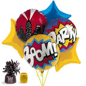 Superhero Balloon Bouquet Kit