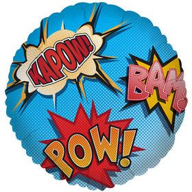 Superhero Comics Foil Balloon