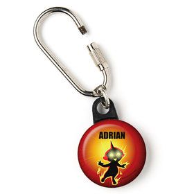 "Superhero Family Personalized 1"" Carabiner (Each)"