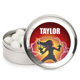 Superhero Family Personalized Mint Tins (12 Pack)