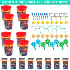 Superhero Favor Kit (For 8 Guests)