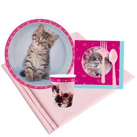 Glamour Cats 8 Guest Party Pack by Rachael Hale