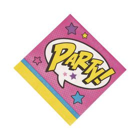 Superhero Girl Luncheon Napkins (16 Count)