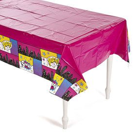 Superhero Girl Table Cover