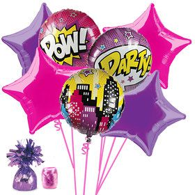 Superhero Girls Balloon Bouquet Kit