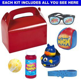 Superhero Party Deluxe Favor Kit (for 1 Guest)