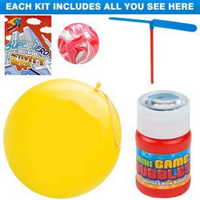 Superhero Party Favor Kit (for 1 Guest)