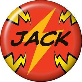 Superhero Party Personalized Mini Button (each)