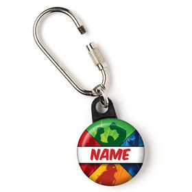 "Superheroes Personalized 1"" Carabiner (Each)"