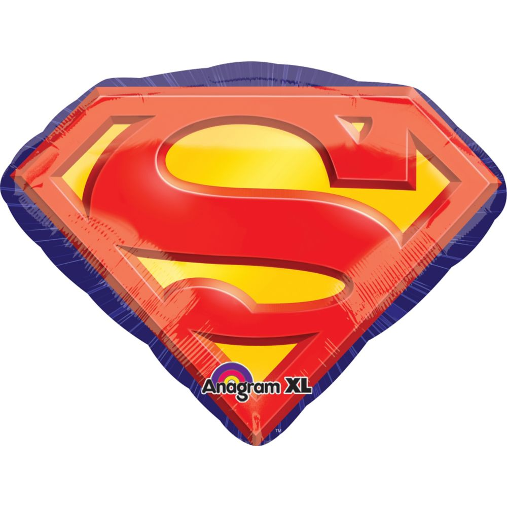 "Superman 26"" Foil Balloon - Party Supplies"