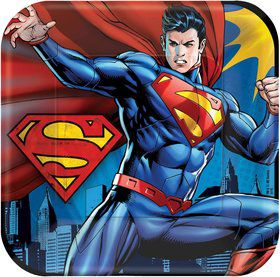 "Superman 9"" Luncheon Plates (8 Pack)"