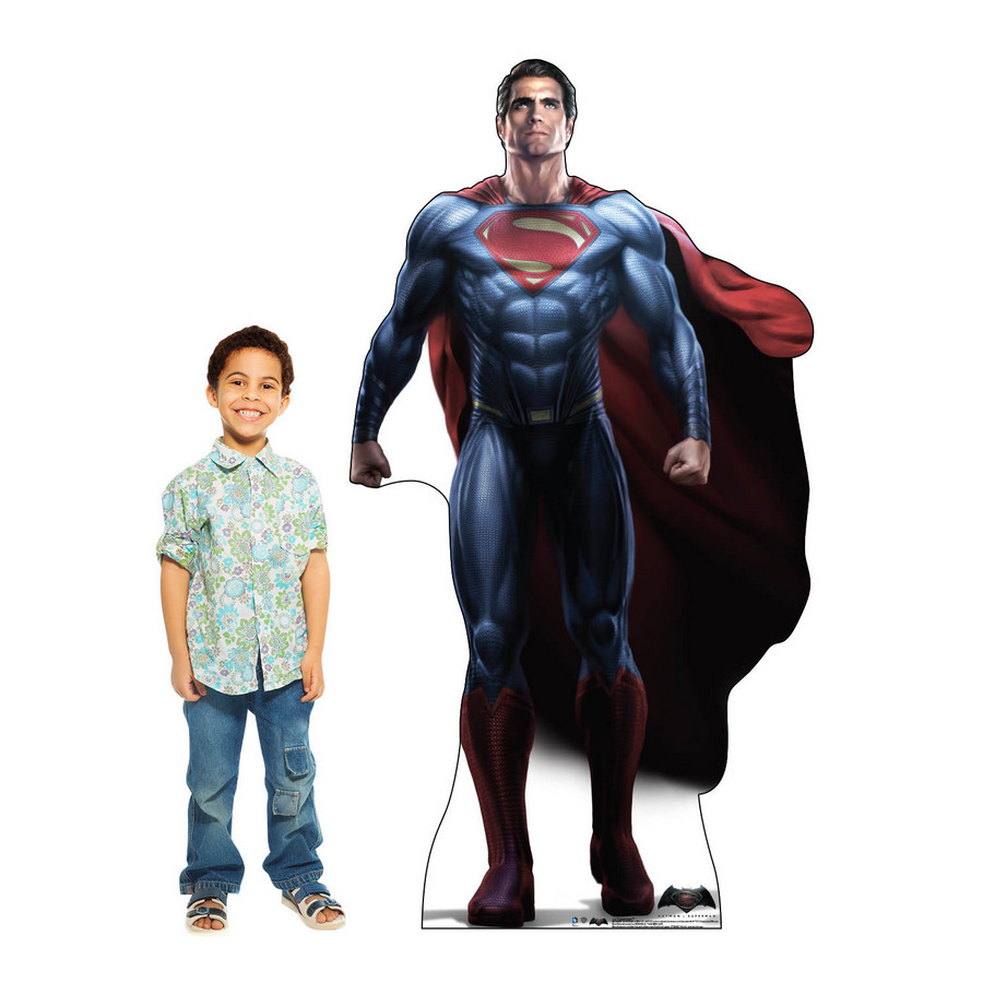 Superman Cardboard Standup (Batman V Superman: Dawn Of Justice) BB2125