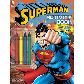 Superman Color and Activity Book (Each)