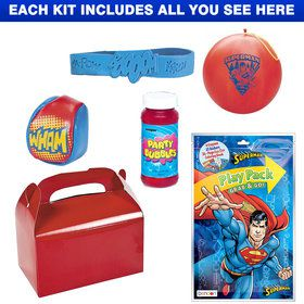 Superman Deluxe Favor Kit (Each)