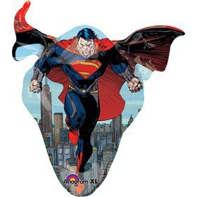 "Superman Man of Steel 31"" Shape Balloon (Each)"