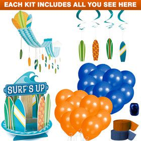 Surf Party Decoration Kit