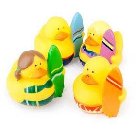 Surfer Rubber Duckies (12 pack)