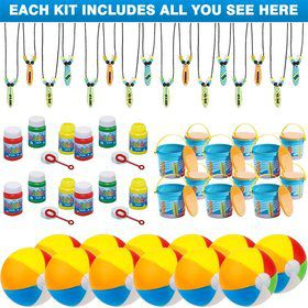 Surfs Up Favor Kit (For 12 Guests)