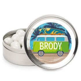 Surf's Up Personalized Mint Tins (12 Pack)