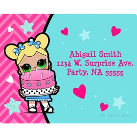 Surprise Dolls Personalized Address Labels (Sheet of 15)