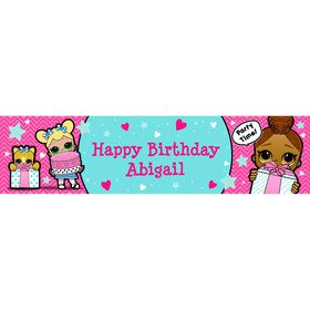 Surprise Dolls Personalized Banner (Each)