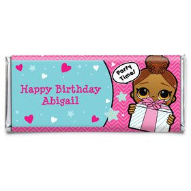 Surprise Dolls Personalized Candy Bar Wrapper (Each)