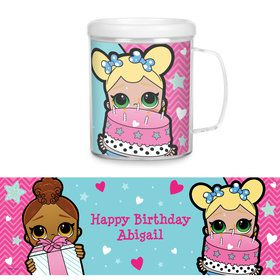 Surprise Dolls Personalized Favor Mug (Each)
