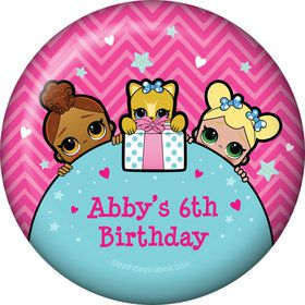 Surprise Dolls Personalized Magnet (Each)