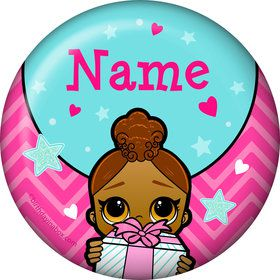 Surprise Dolls Personalized Mini Button (Each)