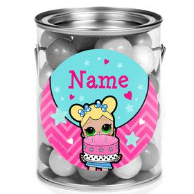 Surprise Dolls Personalized Mini Paint Cans (12 Count)