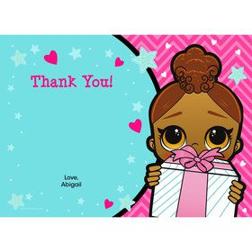 Surprise Dolls Personalized Thank You (Each)