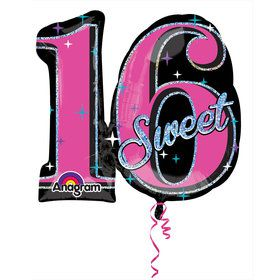 "Sweet 16 Prismatic 26"" Balloon (Each)"