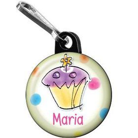 Sweet Celebration Personalized Mini Zipper Pull (each)