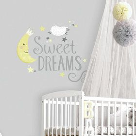 Sweet Dreams Peel & Stick Decals