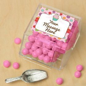 Sweet Stuff Personalized Candy Bin with Candy Scoop (10 Count)