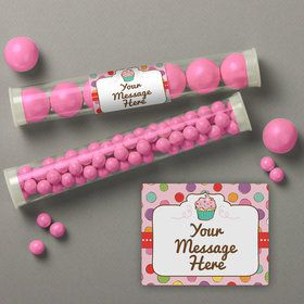 Sweet Stuff Personalized Candy Tubes (12 Count)