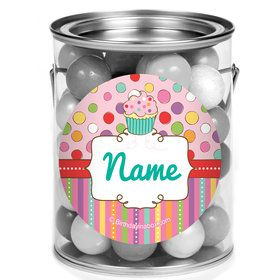 Sweet Stuff Personalized Mini Paint Cans (12 Count)