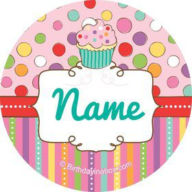 Sweet Stuff Personalized Mini Stickers (Sheet of 24)
