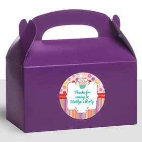 Sweet Stuff Personalized Treat Favor Boxes (12 Count)