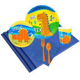 T-Rex 1st Birthday Party Pack