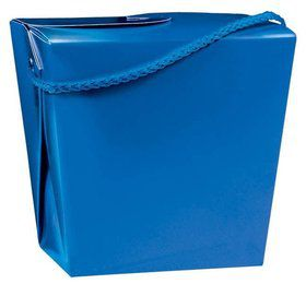 Take Out Blue Quart Boxes (12 Pack)