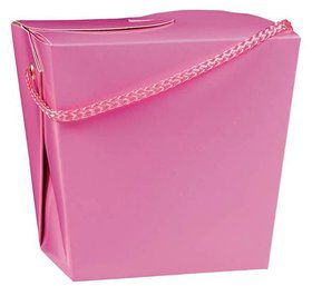 Take Out Pink Quart Boxes (12 Pack)