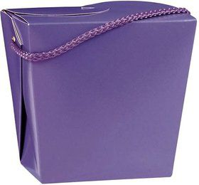 Take Out Purple Quart Boxes (12 Pack)
