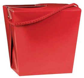 Take Out Red Quart Boxes (12 Pack)
