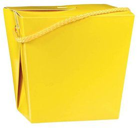 Take Out Yellow Quart Boxes (12 Pack)