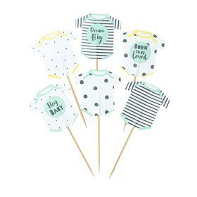 Talking Tables Born To Be Loved Cupcake Toppers