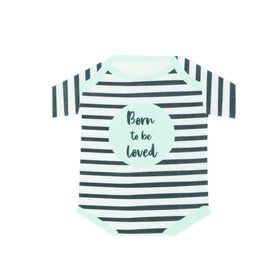 Talking Tables Born To Be Loved Romper Napkin (16)
